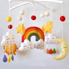 Baby Rattles Bracket Set Toy Mobile For Crib Handmade DIY Be