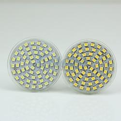 GU10 3528 60-LED 220V Base économie d'énergie pur/chaud blanc projecteur ampoule lampe