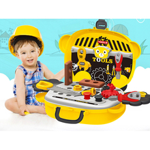 Tools-Set Pretend-Play-Toy Construction Boys Ce for Toddlers Best-Gift Mini 14pieces