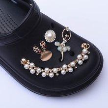 1 шт. новые дизайнерские подвески для обуви на цепочке, аксессуары Croc JIBZ, украшение для обуви Croc Clog, подвесная пряжка, подарок для девочки