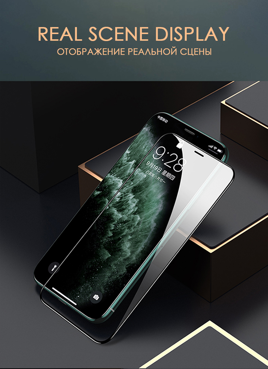 30D Full Cover Tempered Glass For iPhone 11 Pro Max Glass X XS Max XR Screen Protector Glass On For iPhone 6 6s 7 8 Plus X Film 23