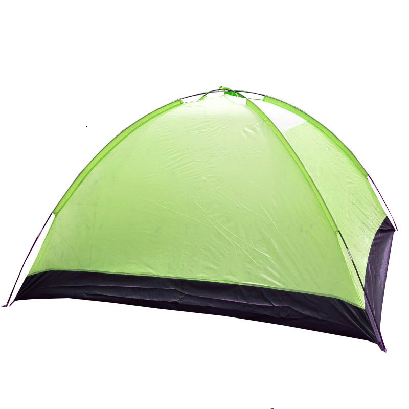3-4 Person Large Double Layer Tent for Outdoor Camping Hiking Hunting Fishing Travel Picnic Tourist Emergency Tent 320x210x145cm (16)