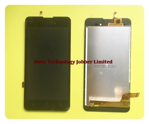 Image 2 - Wyieno For BQ 5035 BQ5035 BQS5035 Velvet LCD Display Screen with Touch Screen Digitizer Sensor Full assembly + tracking