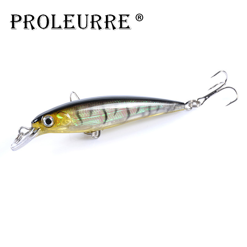 1Pcs Minnow Hard Fishing Lures 90mm 7.5g Floating Fishing Wobblers Artificial Laser Plastic Baits Crankbait Isca Pesca