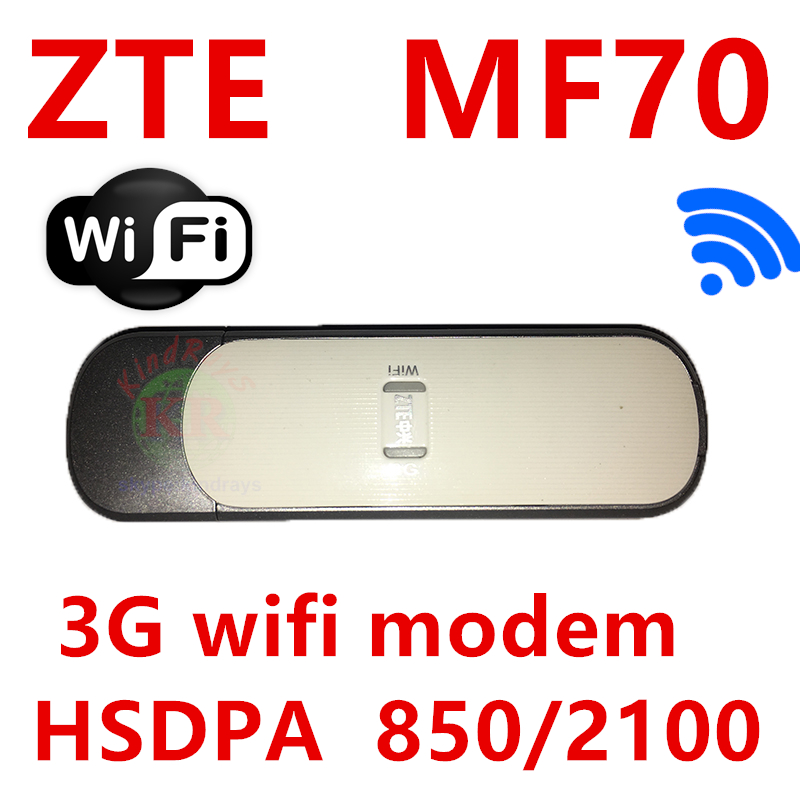 Unlocked 21.6Mbps <font><b>ZTE</b></font> <font><b>MF70</b></font> 3G USB Wireless Modem 3G WIFI modem 3g router with sim card slot 4g modem wifi router image