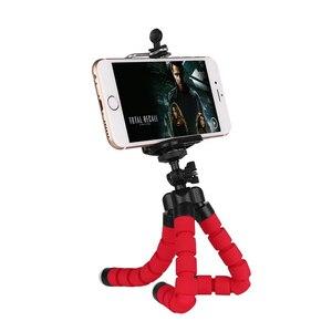 Image 5 - Uchwyt na telefon elastyczna gąbka Octopus uchwyt na statyw Selfie rozszerzający uchwyt na stojak do iphonea Samsung Gopro uchwyt na klips do aparatu