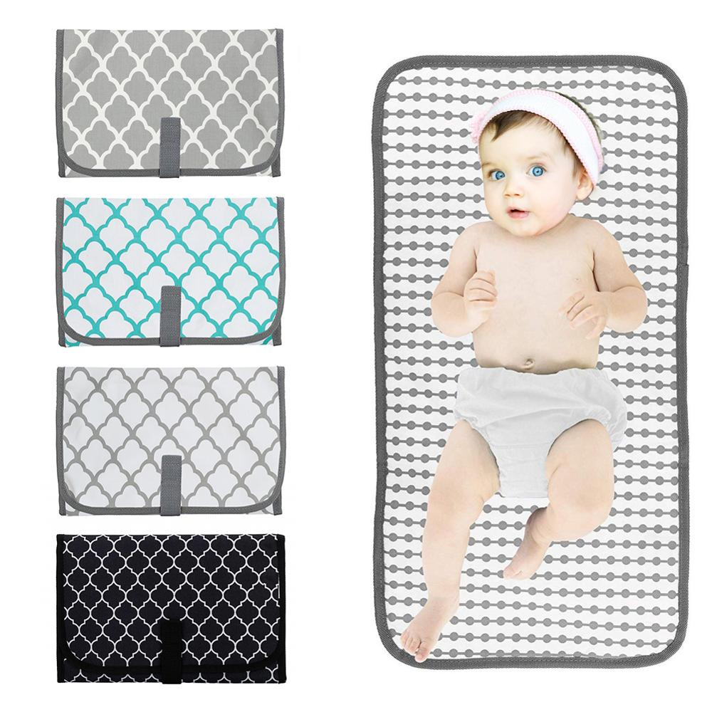 Infant Waterproof Changing Pad Diaper Travel Multifunction Portable Baby Diaper Cover Mat Clean Hand Folding Diaper Bag