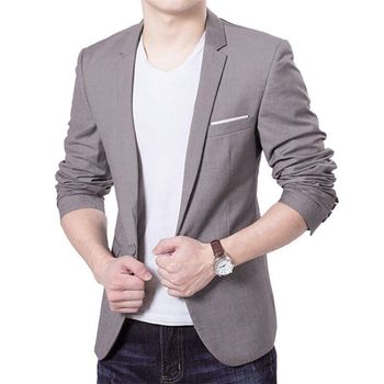 2019 Fashion Mens Formal Occasion Suit Business Work Coat Jacket Tuxedo  Clothes