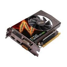 Placa de vídeo zotac gtx650ti 2gd5 128bit 2gb gddr5 placas gráficas para nvidia original mapa gtx 650ti GTX650Ti-2GB hdmi dvi usado