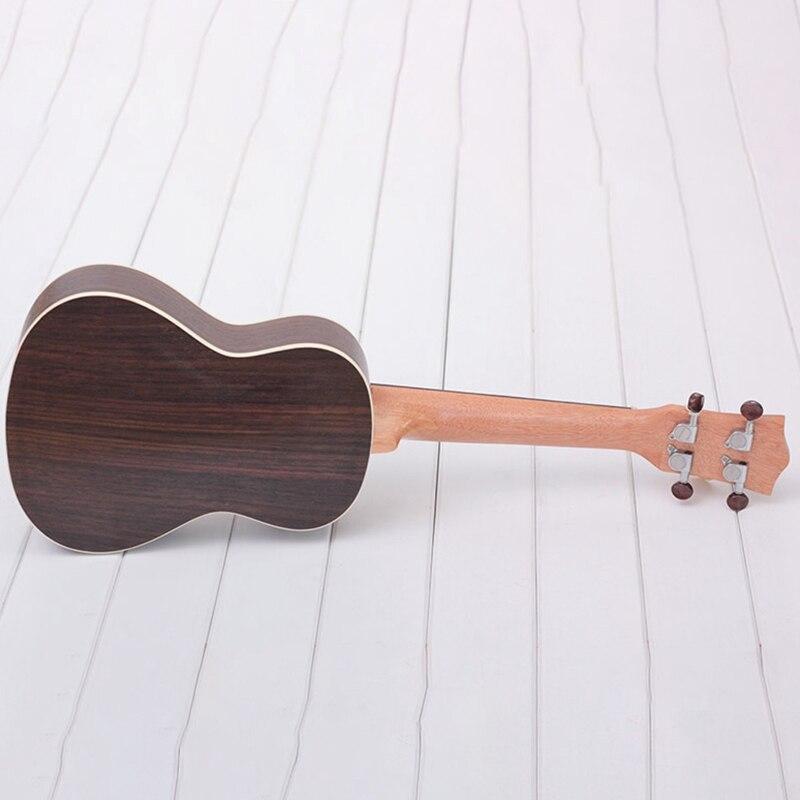 Longteam 23 pouces guitare ukulélé palissandre mat ukulélé hawaïen Mini guitare - 3