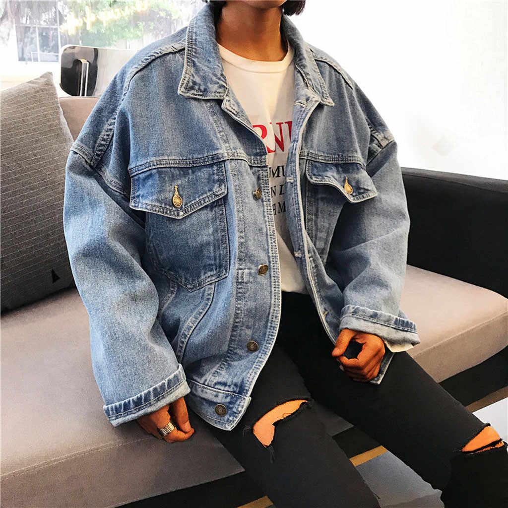 US $9.99 50% OFF|S 3XL Short Denim Jacket Casual Women Jean Chaquetas Mujer Jaquetas Short Sleeve Coat Feminino Veste Femme Jeans Jacket in Basic