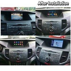 Image 3 - Radio Multimedia con GPS para coche, Radio con reproductor, navegador, navegador Navi, con Android y reproducción de vídeo, para Honda Accord 8, Europa, 2007 2012