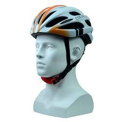 Kask rowerowy collels PC i EPS w formie matowy rower dla dorosłych kask rowerowy z 25 otworów wentylacyjnych i tylne światło LED