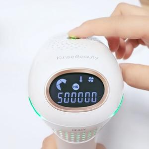 Image 3 - IPL Laser Hair Removal Machine Epilator a Laser Hair Removal Permanent Bikini Facial Hair Removal machine 500000 Flash