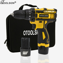 New 12.6V 1500Mah Electric Drill Power Tools Torque With Screwdriver Bag Variable Speed Cordless