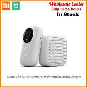 Xiaomi Doorbell-Set Ai-Face Identification 720P Cloud-Storage Video-Free Motion-Detection