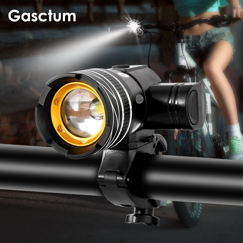 2400mAh LED Bicycle Light  Front Light USB Rechargeable Rear Light 3modes Headlight With LED Bike Lamp Cycle FlashLight For Bike