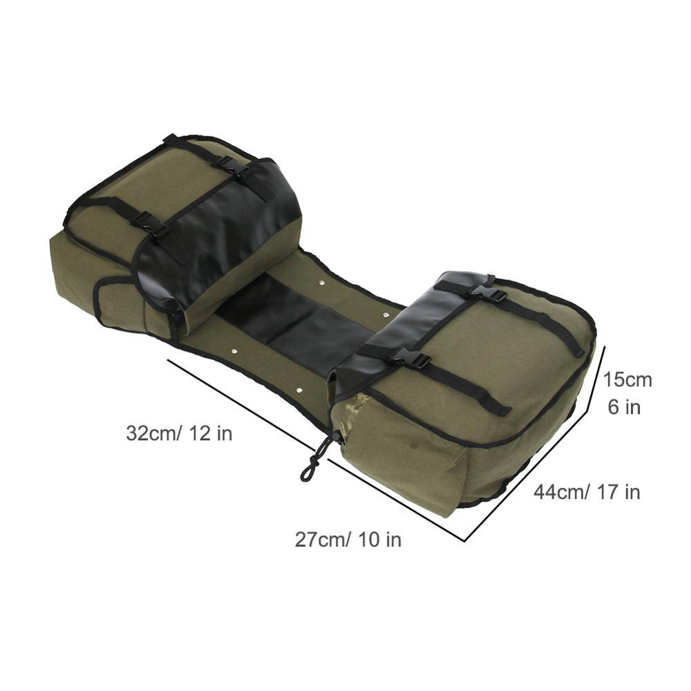 Sacs à bagages étanches en toile pour Honda shadow, sac de selle pour moto Suzuki dr 650 3