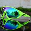 Ciclismo óculos de sol das mulheres dos homens da bicicleta de estrada equitação correndo óculos oculos ciclismo mtb fietsbril gafas 1 lente 7