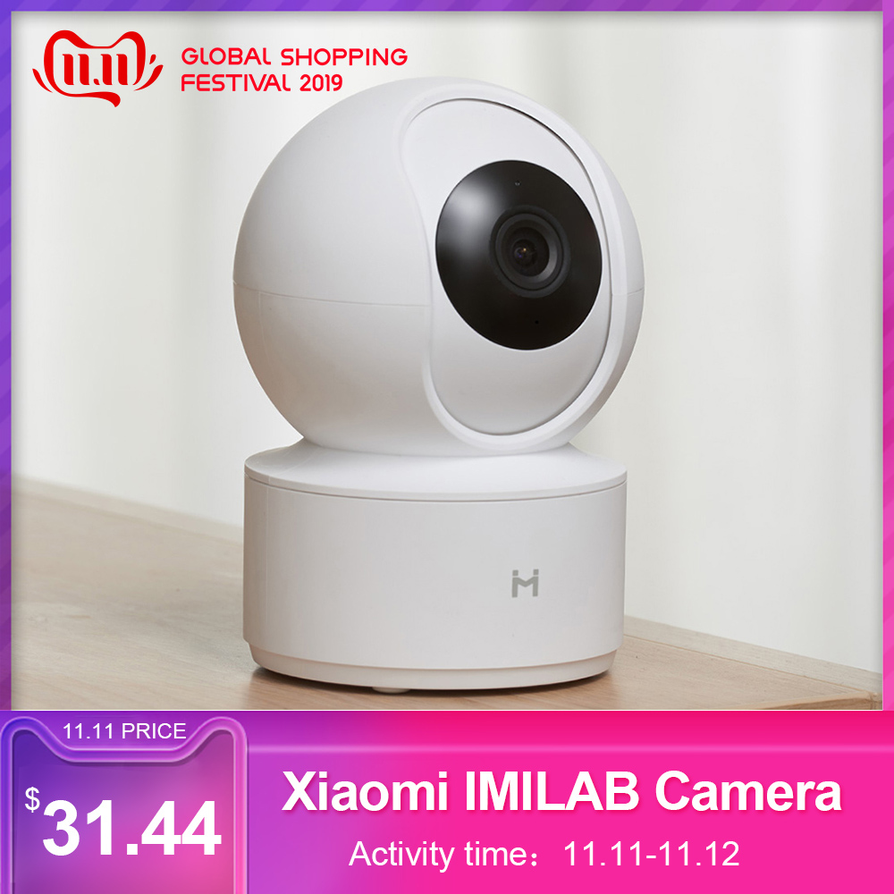 Xiaomi IMILAB 1080P Smart Camera Infrared Night Vision Ip Camera Ip 360 Degree Panoramic Al Humanoid Detection Wifi Camera Wifi