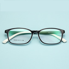 Anti-blue Light Silicone Glasses  Children Myopia Soft Frame Kids Eye Fame Fashion TR90