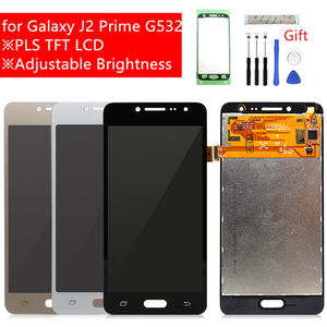 Image 1 - สำหรับSamsung Galaxy J2 PrimeจอแสดงผลLCD G532F Touch Screen Digitizer Assembly G532 G532M Lcdอะไหล่ซ่อมของขวัญ