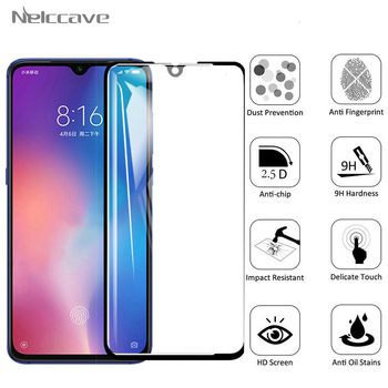 50 Pieces Full Coverage Protective Tempered Glass For Xiaomi Mi9 SE Mi CC9 CC9e 9T 9X 9 Pro 8X 8 Lite 8SE Screen Protector Film