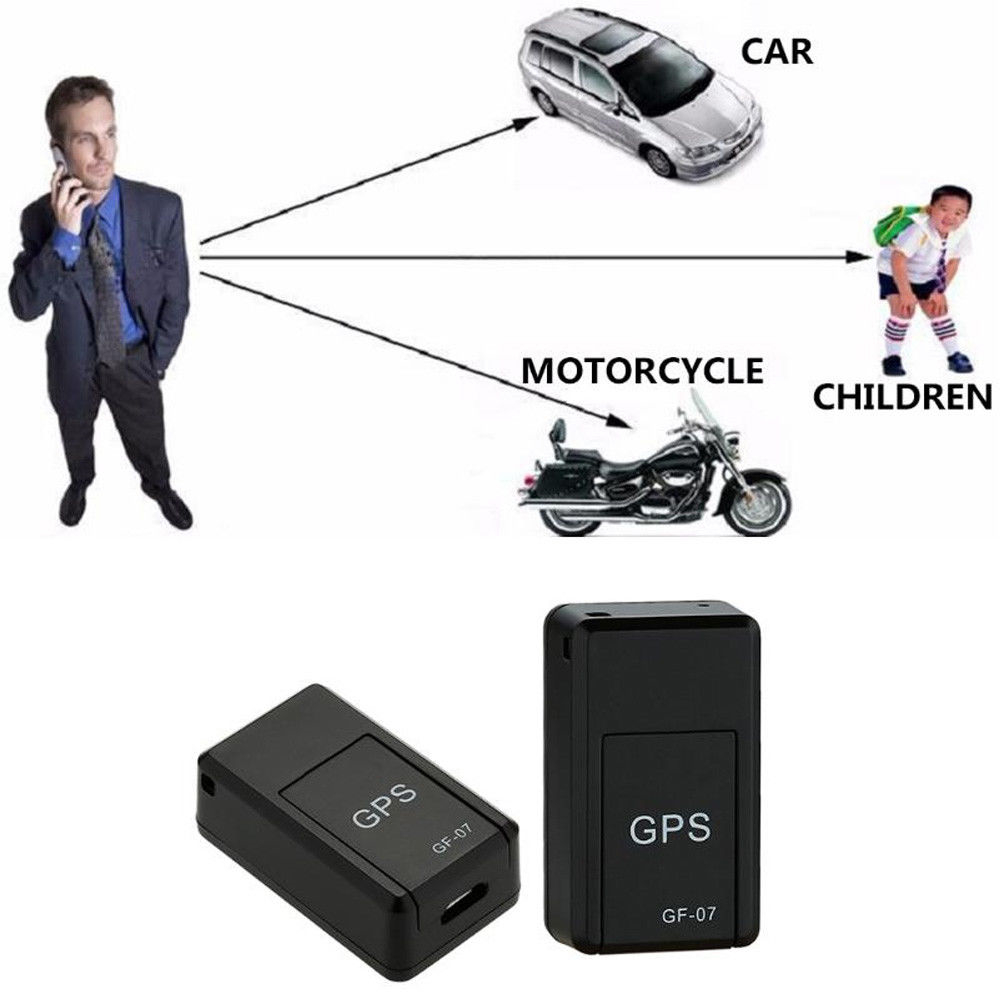 New GF-07 Mini GPS Tracker Car GPS Locator Tracker Anti-Lost Recording Tracking Device For Vehicle Car Child Location Trackers