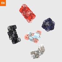Neueste 5 farben Xiaomi Mitu Cube Spinner Finger Ziegel Intelligenz Spielzeug Smart Finger Spielzeug Tragbare Für xiaomi smart home