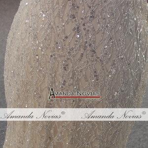 Image 5 - Vestido de novia de estilo playero champán, sexy, transparente