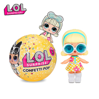 L.O.L.SURPRISE! Original lol Surprise Doll Confetti POP 3 Generation DIY Manual Blind Box Fashion Model Doll Girl Toy Kid Gift