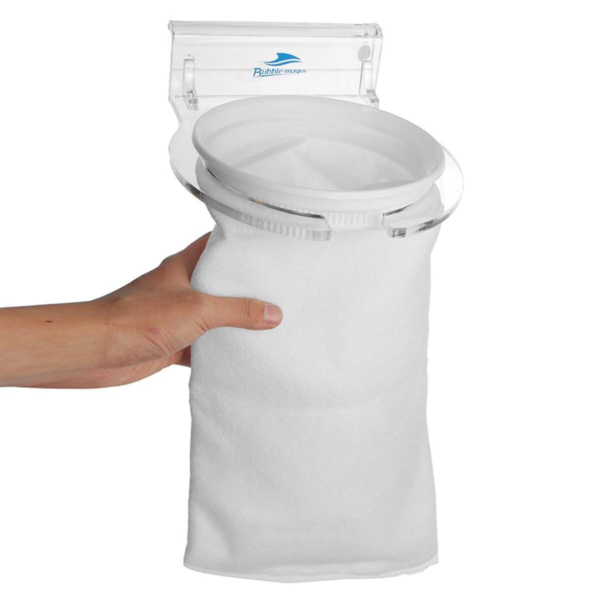 4/7 дюймов аквариумных рыб морской приемный фетровые фильтр носок мешок с фильтром носок держатель кронштейн