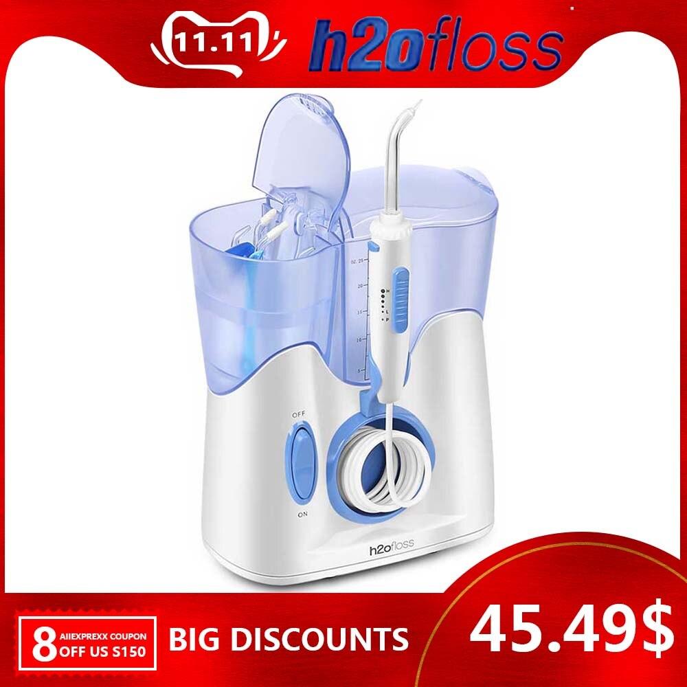 Fil dentaire irrigateur Oral, irrigateur d'eau fil dentaire fil d'eau dentaire cueillette d'eau dentaire