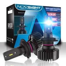 Novsight H7 LED H4 H11 H8 H1 luce di lampadine per auto Mini HB3 HB4 led fari lampadine canbus 6500k auto Fari fendinebbia luci 12v