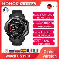 Globale Version Ehre Uhr GS Pro Smart Uhr SpO2 Smartwatch Herz Rate Überwachung Bluetooth Anruf 5ATM Sport Uhr für Männer