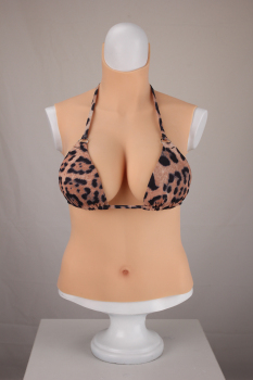 Upgrade 6G New D CUP Halfbody Fake Artificial Boobs Realistic Silicone Breast Forms Crossdresser Shemale Transgender Drag Queen e cup half body fake breasts artificial breasts silicone breast realistic fake boobs beauty crossdresser transvestism shemale
