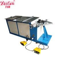 Galvanized steel sheet Elbow Making Machine , Motorized shrimp elbow machine , duct elbow making machine