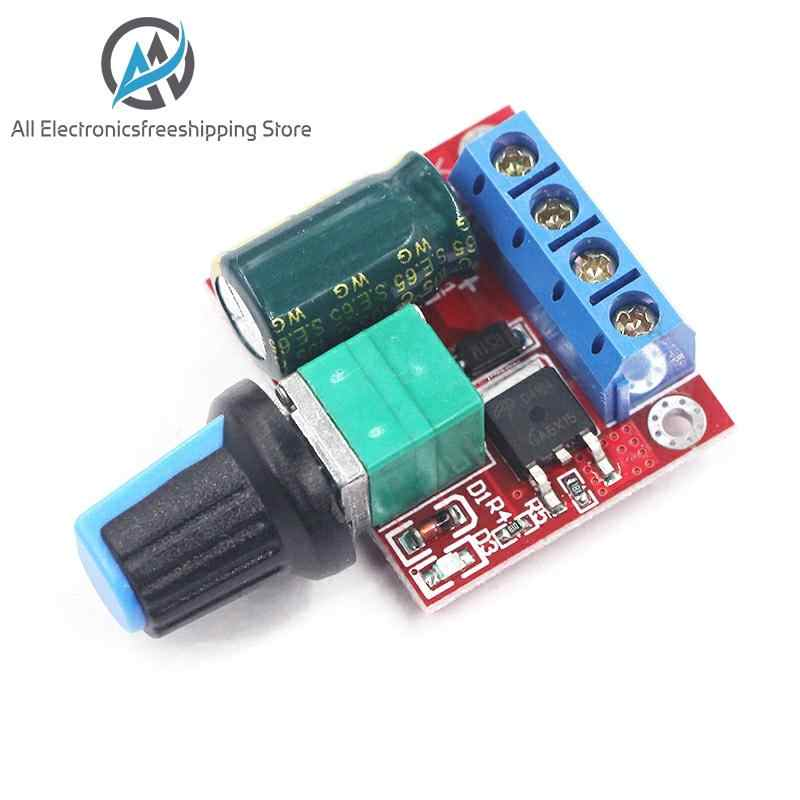 Dc 4.5V-35V 5A 20 Khz Led Pwm Dc Motor Controller Speed Control Dimmen Max 90W nieuwste