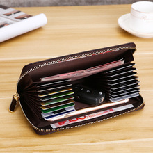 2019 PU Leather Men Wallets Coin Purse Long For Large Capacity Card Holder Wallet