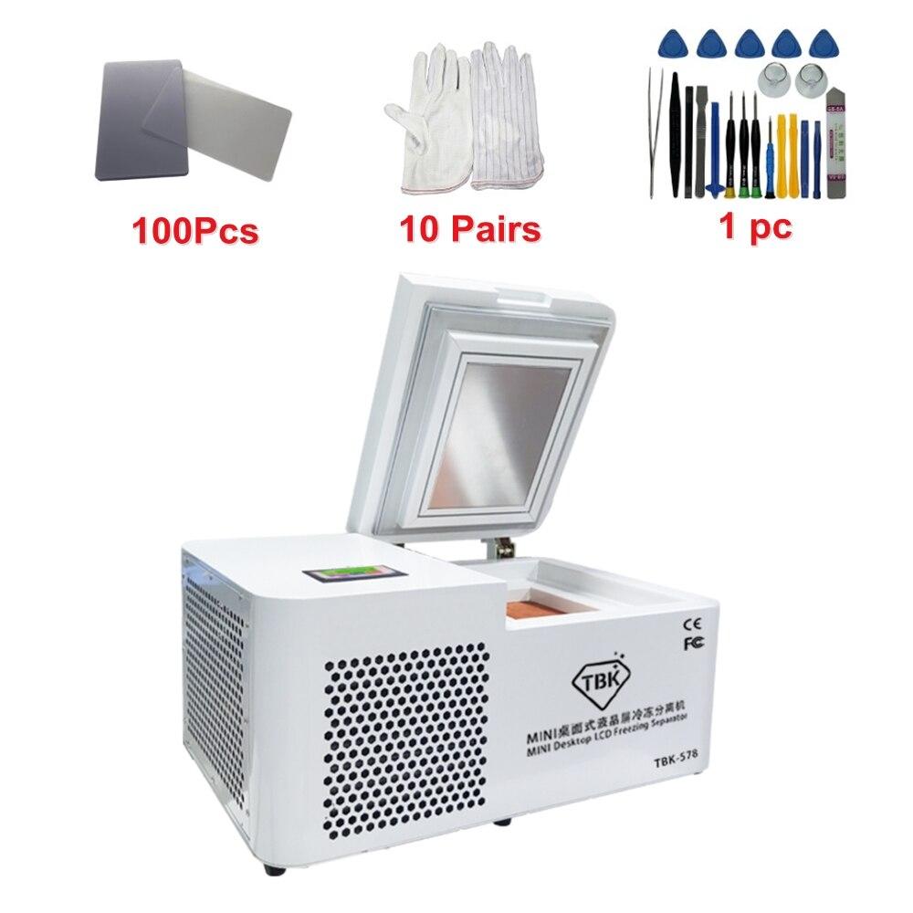 Tools : LY TBK 578 Mini desktop LCD freezing Separator Separating machine For iPhone Tablet Screen Repair Refurbishment with 508A kit