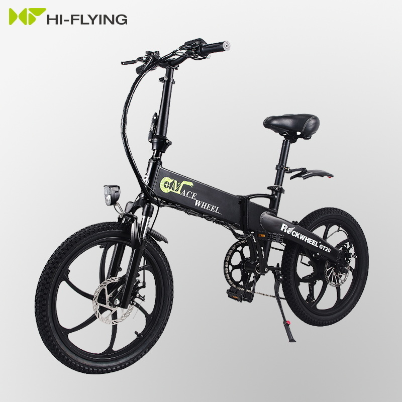Electric Folding GT20 Bike Three Riding Modes ebike 350W Motor e bike 60KM Range Electric Bicycle 20 inch tire scooter 2