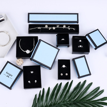 Fashion Jewelry Paper Gift box Luxury Storage Case for Wedding Birthday Christams Ring Earring Pendent Display and Organizer фото