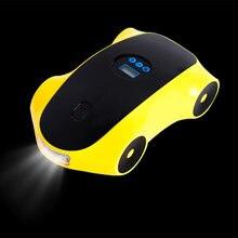 Jourm автомобильный воздушный компрессор надувной насос w светодиодный