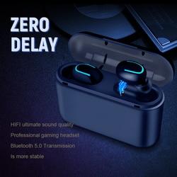 Беспроводные Bluetooth-наушники, TWS наушники с Blutooth 5.0, спортивные наушники с громкой связью, игровые наушники для телефона PK HBQ