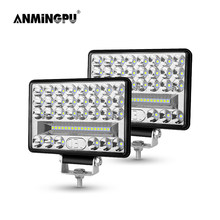 ANMINGPU 12V 24V Off Road LED Bar 4