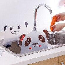 1 шт. Милая панда присоска чашка вода всплеск воды непроницаемая перегородка экран умывальник подставка кухонные аксессуары гаджеты инструмент