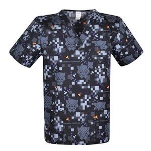 Image 1 - Print Men scrub uniforms,print men scrub top,men scrub tops   scrub uniform for male in 100% cotton