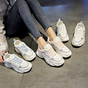 LZJ New 2019 Spring Fashion Women Casual Shoes Suede Leather Platform Shoes Women Sneakers Ladies White Trainers Chaussure Femme
