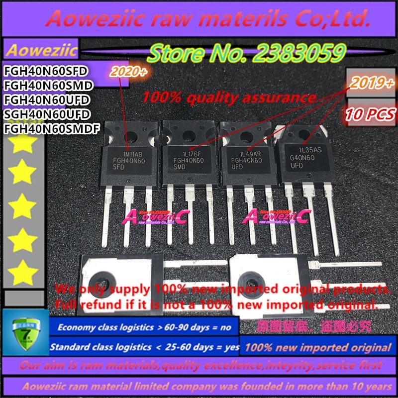 100% New Imported Original 40N60 FGH40N60 FGH40N60SFD FGH40N60SMD FGH40N60UFD SGH40N60UFD G40N60 FGH40N60SMDF TO-247 Transistor