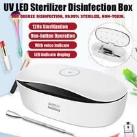 LED Dry Temperature Sterilizer Vet Tattoo Dental Medical Autoclave Manicure tool sterilizer For Nails Pedicure Salon Adapter